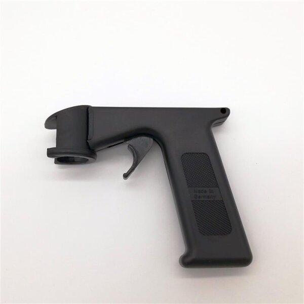 Spraydosen Handgriff